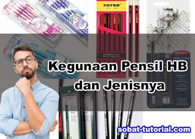 Kegunaan Pensil HB dan Jenisnya