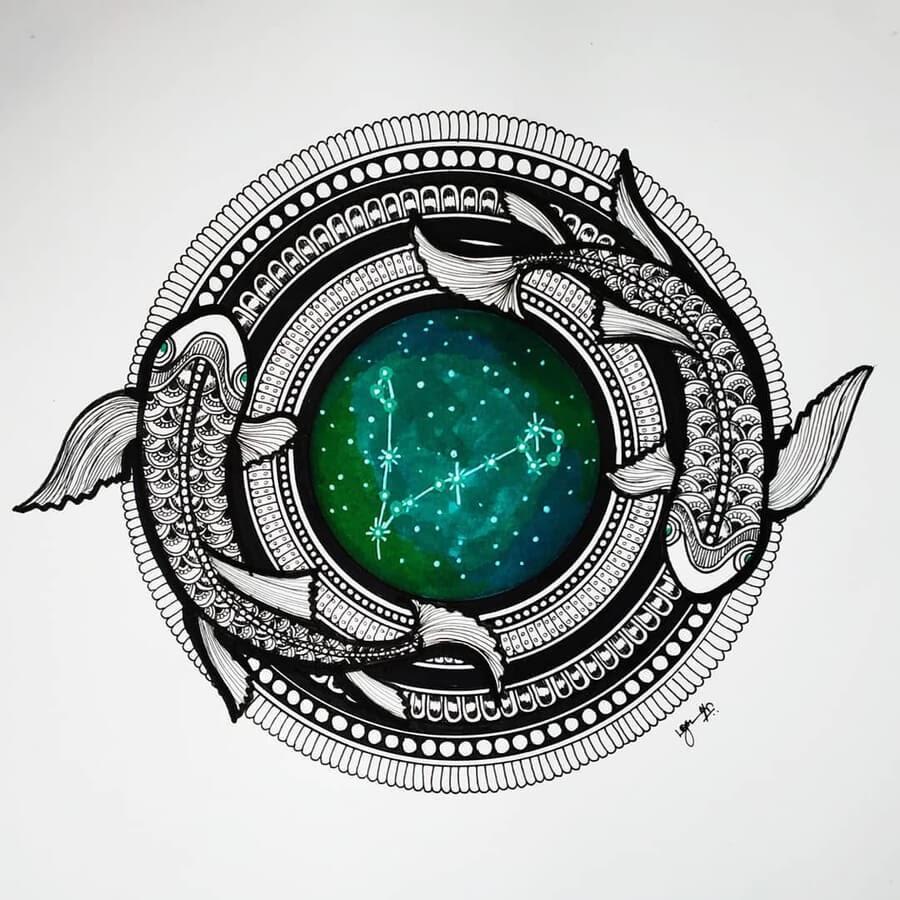 12-Zodiac-sign-Pisces-Madhusuja-www-designstack-co