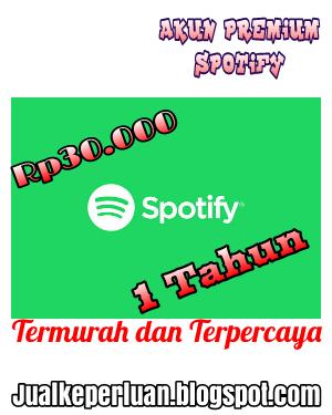 Promo Akun Premium Spotify