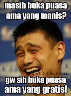 Gambar foto DP Meme lucu Puasa Sahur Ramadhan Terbaru Download animasi