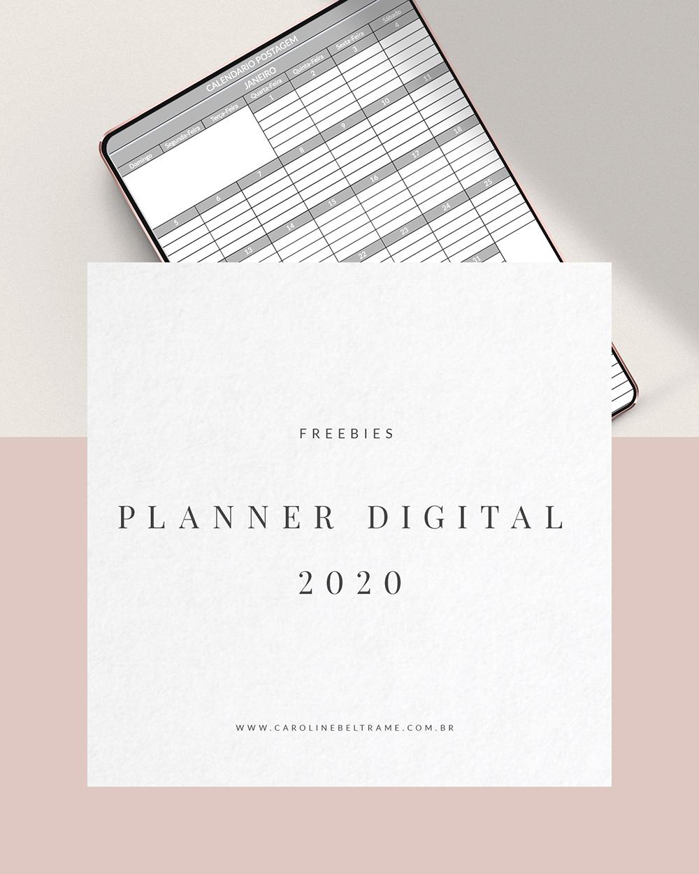 Planner Digital 2020