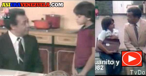 Juanito y Él con Amilcar Rivero y Tomás Henriquez
