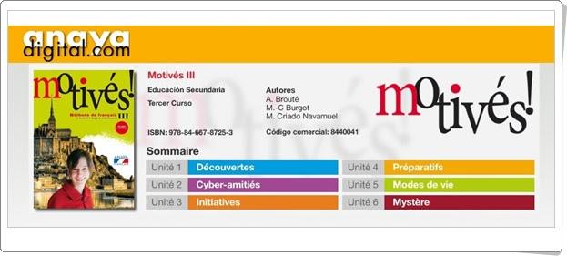 Anaya Digital Francés de 3º de ESO