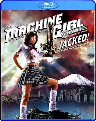 The Machine Girl Jacked Definitive Decade One Bluray