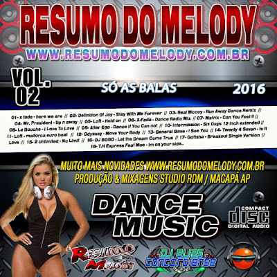 CD DANCE MUSIC VOL.02.2016