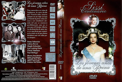 Sissi: Los jóvenes años de una reina | 1954 | Caratula, Cover, Dvd