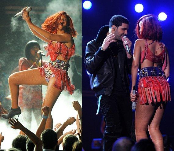 Rihanna 2011 Grammy Dress