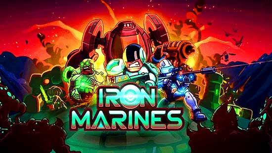 Iron Marines MOD (Unlimited Money) APK + DATA Download