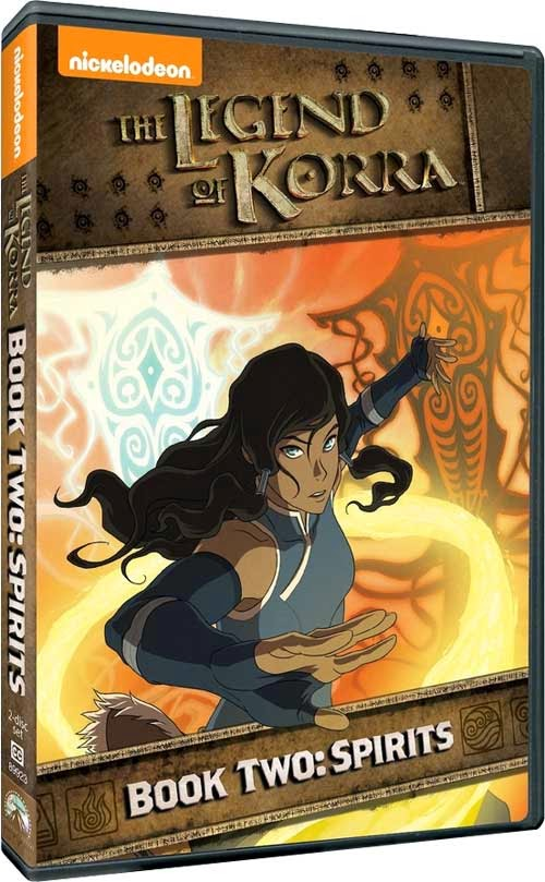 DVD Review - The Legend of Korra - Book Two: Spirits