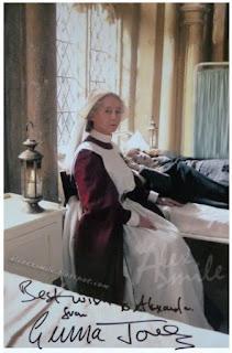 Gemma Jones autograf, autograph Harry Potter