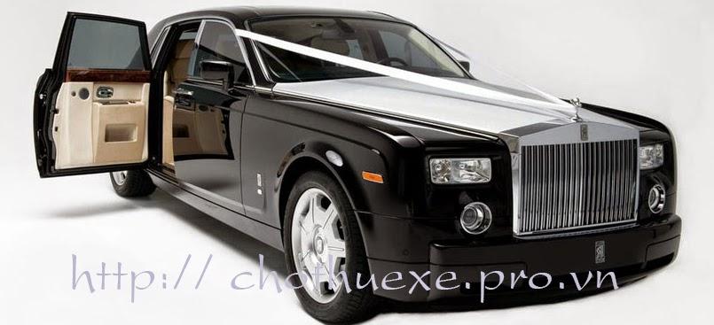 Cho thuê xe cô dâu VIP Roll Royces