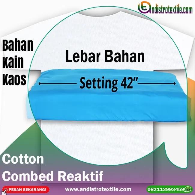 Bahan Kaos Cotton Combed 30s di Tasikmalaya