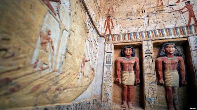 Makam Pembantu Firaun Berusia 4.400 Tahun Ditemukan