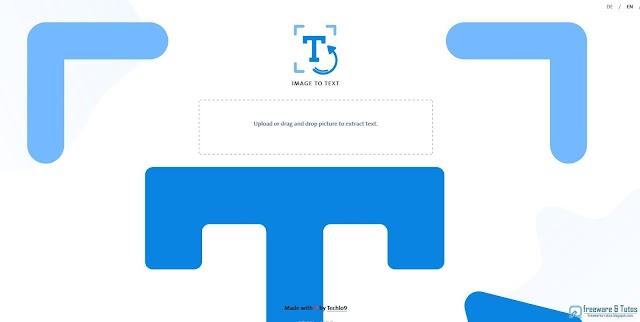 Image to Text : un outil OCR en ligne gratuit