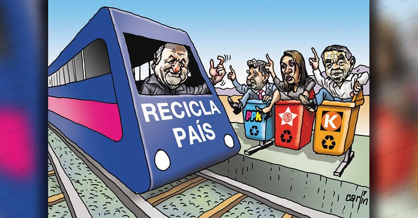 Carlincaturas Lunes 9 Noviembre 2020 - La República
