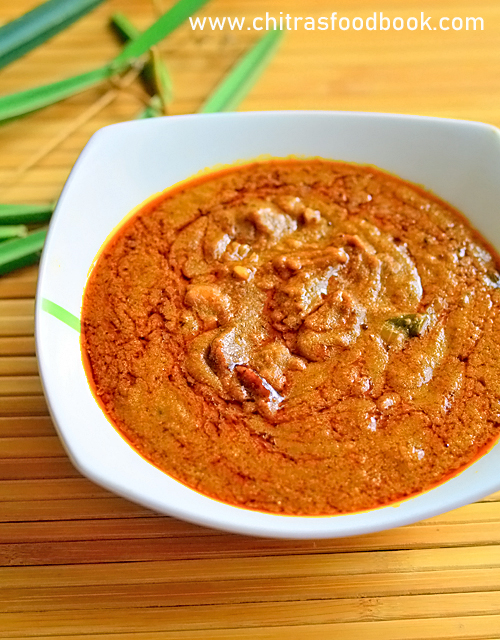 Pirandai kuzhambu recipe