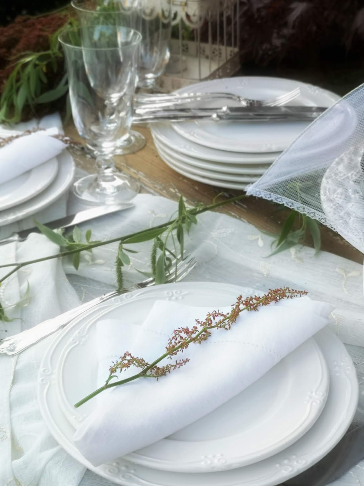 tavola in bianco
