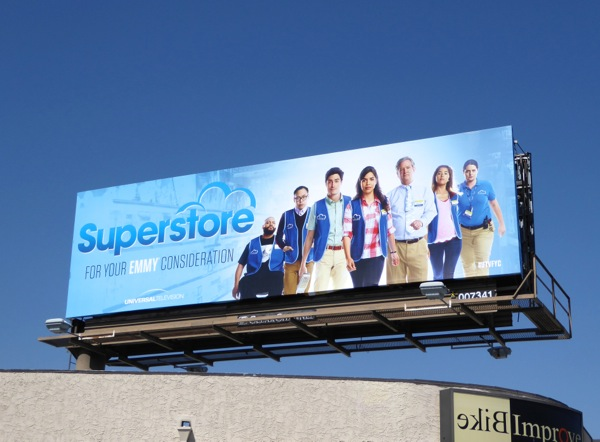 Superstore Emmy 2016 consideration billboard
