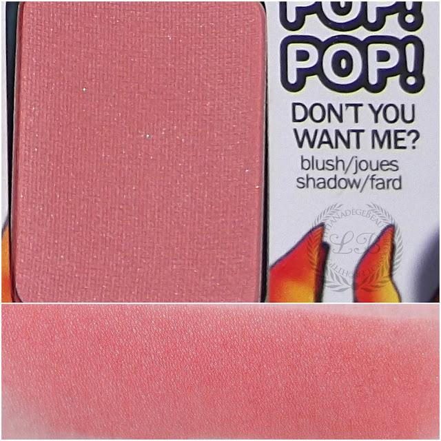 THE BALM COSMETICS : Balm Jovi Rockstar Blush Don't You Want Me
