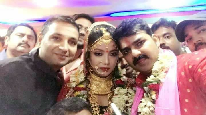 Photos And Videos Of Pawan Singh And Jyoti Singh Marriage