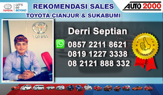 Rekomendasi Sales Toyota Sukabumi