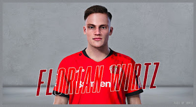 PES 2020 Faces Florian Wirtz by Jovic