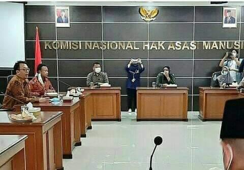 Politisi PKS Dampingi Keluarga Korban Penembakan ke Komnas HAM