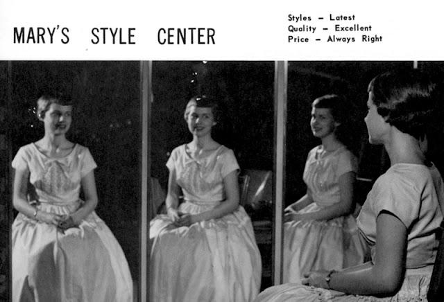 Tinas Coma 1958 yearbook