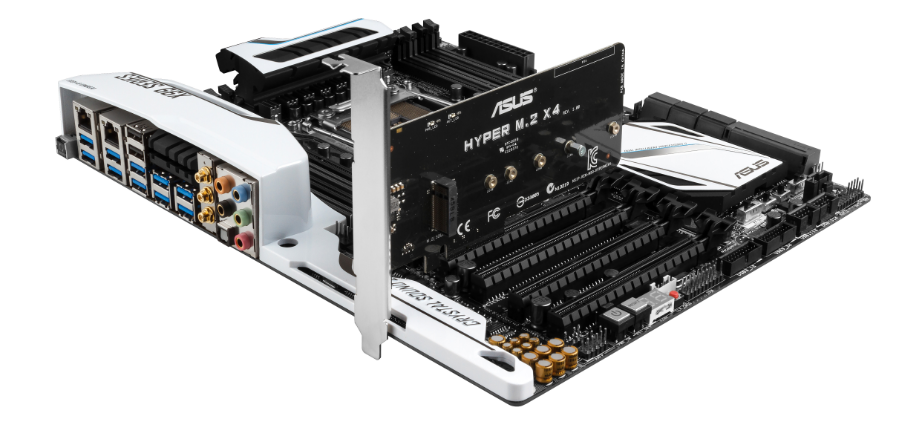 ASUS X99 Hyper M.2 x4 expansion card