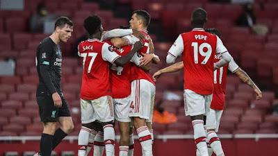Dua Penyerang Arsenal Sangat Garang Ketika Bertemu Dengan Liverpool