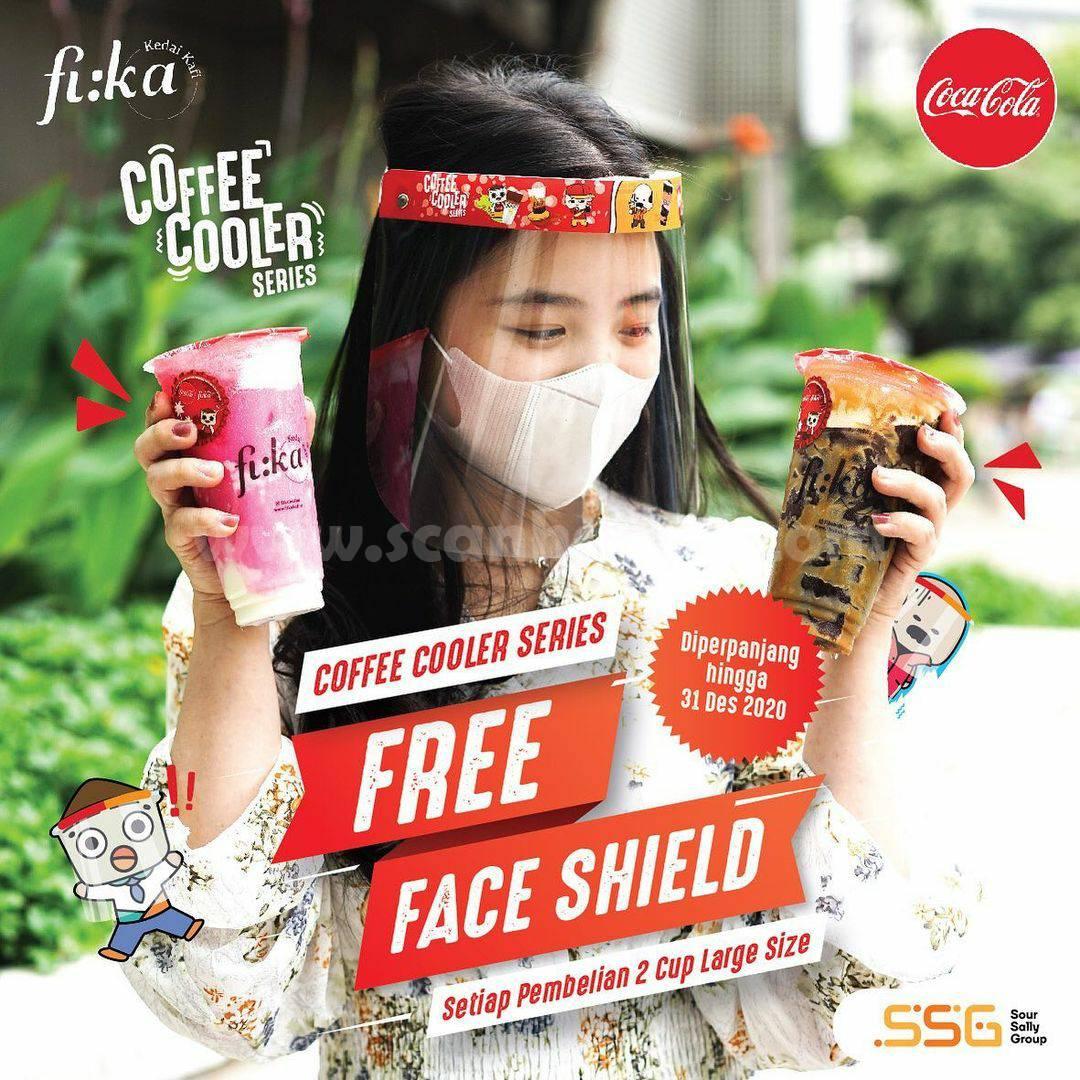 Promo FIKA KAFI Gratis Face Shield Gemesh! Limited Edition
