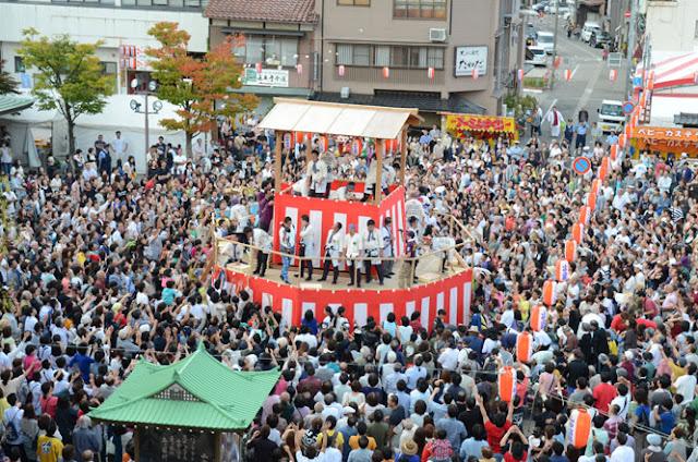 Koi-koi Matsuri, Yamanaka Onsen, Kaga, Ishikawa
