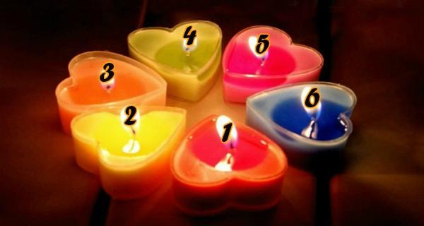ТЕСТ: Выберите свечу и узнайте интересные стороны вашей личности!