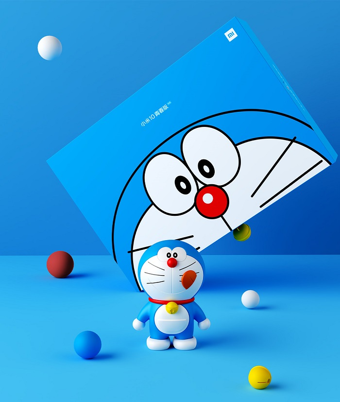 Xiaomi Mi 10 Youth Doraemon Figurine