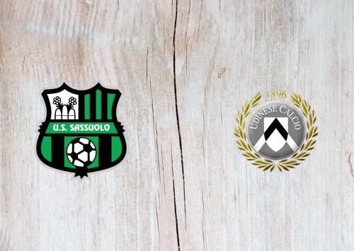 Sassuolo vs Udinese -Highlights 06 November 2020