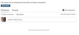 Sistem Komentar dan SEO Blog