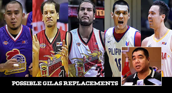 LIST: 11 PBA Players Comm. Marcial enumerated as Gilas replacements