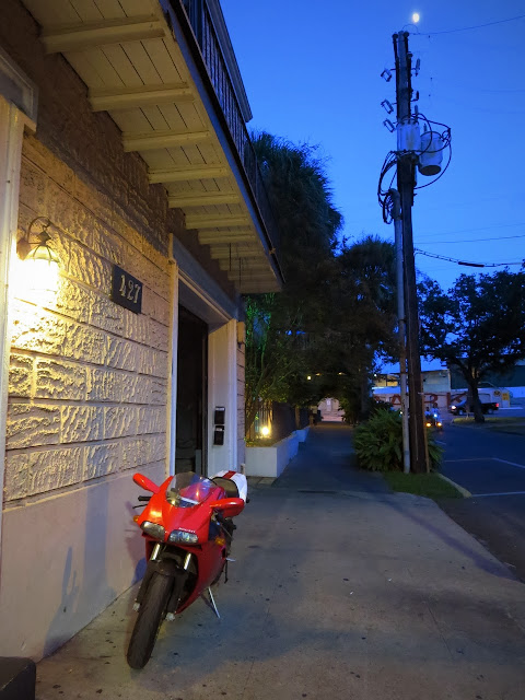 Ducati motorcycle in New Orleans