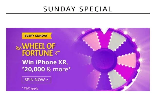 Amazon Wheel Of Fortune Quiz 26 January, iphone xr quiz