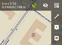 Как у Locus Map убрать панели с экрана в одно нажатие