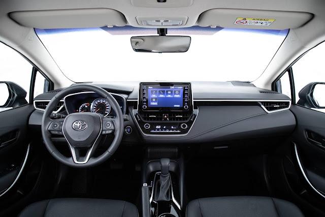 Novo Toyota Corolla 2020 XEi Flex - interior