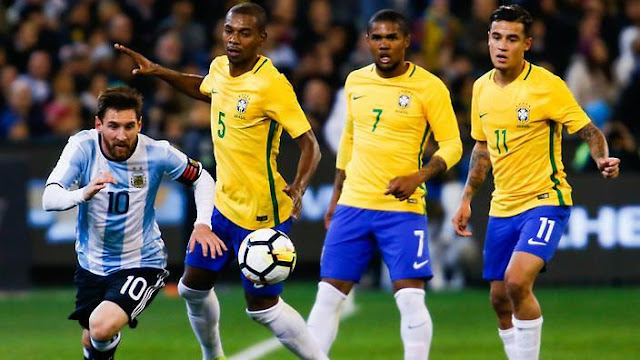 Prediksi Bola Brasil vs Argentina Semifinal Copa America