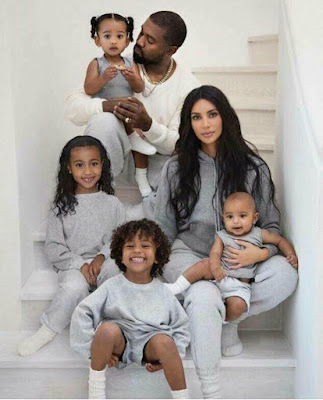 WHAT IS THE NAME OF KANYE'S YOUNGEST CHILD?
