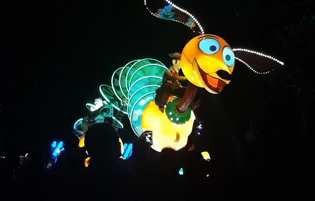 Electric Parade at Hong Kong Disneyland Toy Story Slinky Dog