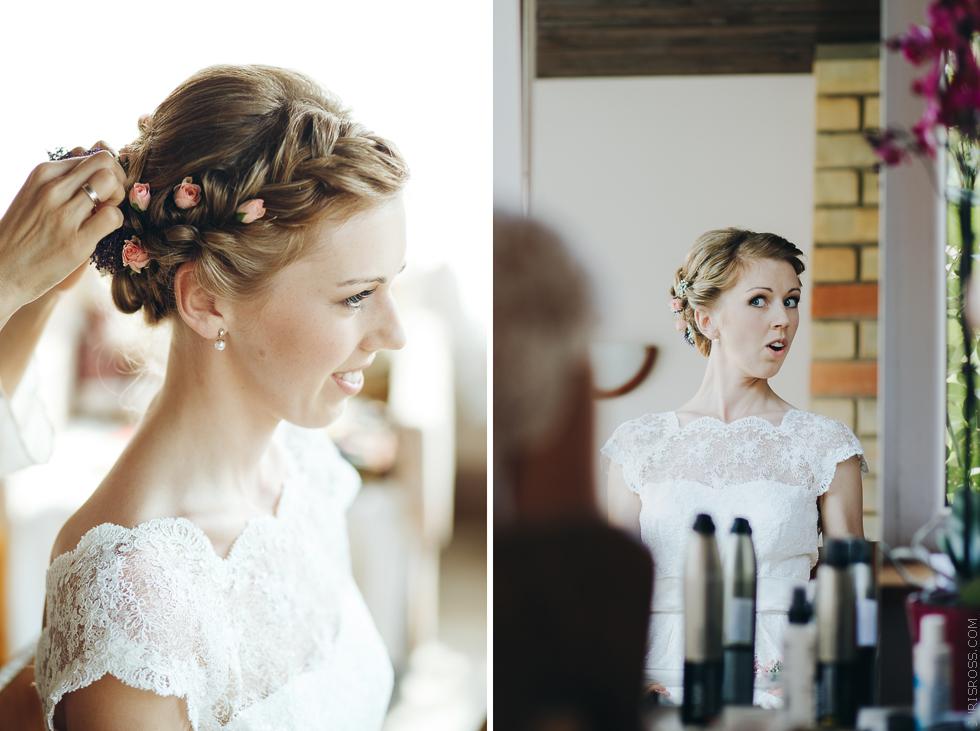 līgavas frizūra, līgavas mati, ziedi matos