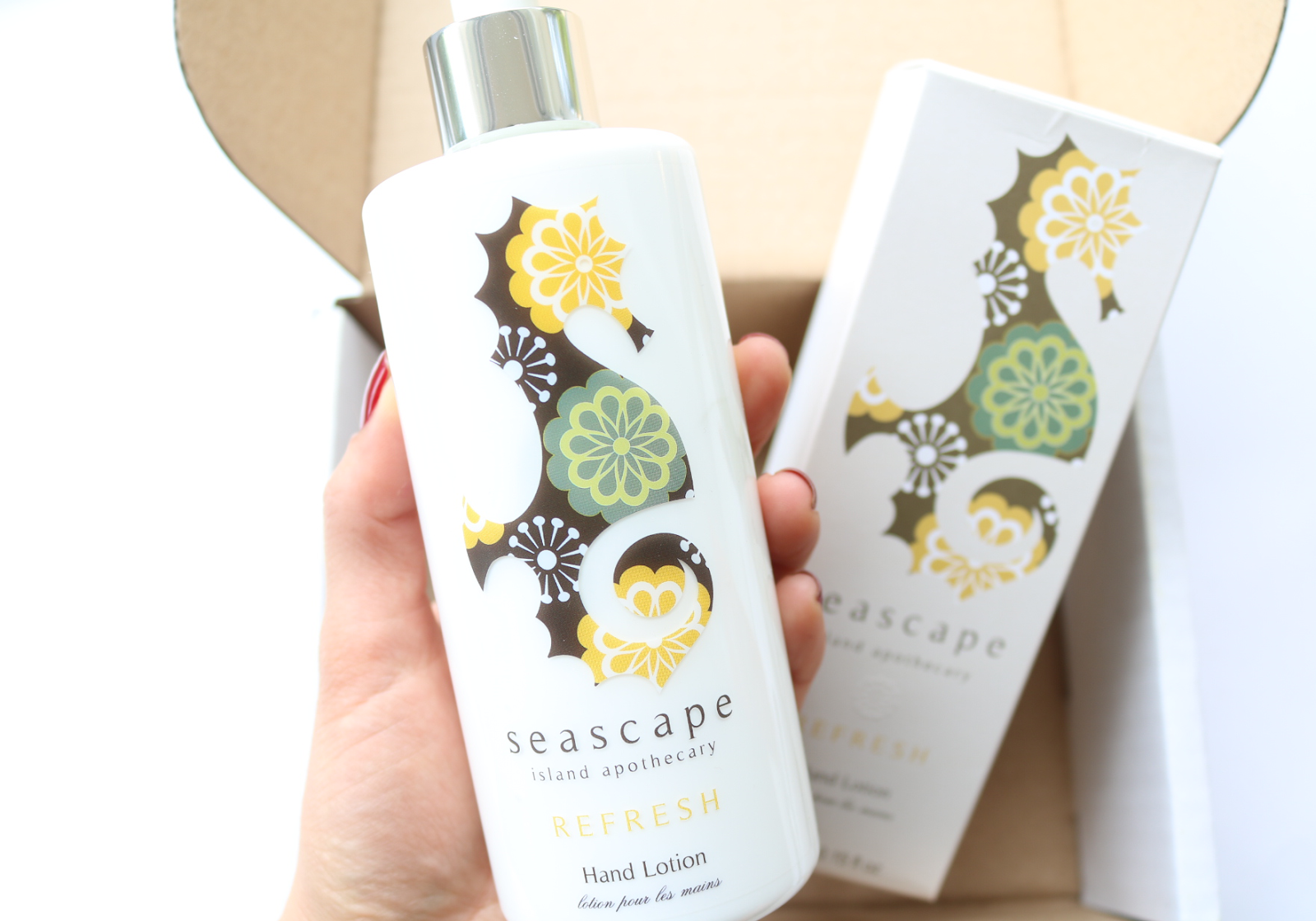 Seascape Island Apothecary Refresh Hand Lotion