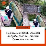 Menakjubkan Habib Al-Muhdlor Khatamkan Al-Quran