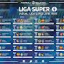 Jadual Lengkap Liga Super 2018