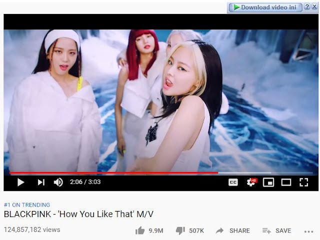 download lagu blackpink how you like that