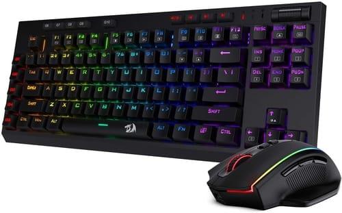 Review Redragon K596 Wireless Mechanical Gaming Keyboard